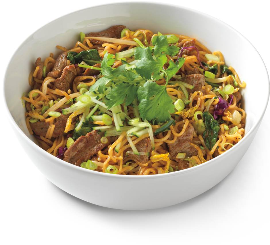 spicy korean beef noodles ~ noodles world kitchen