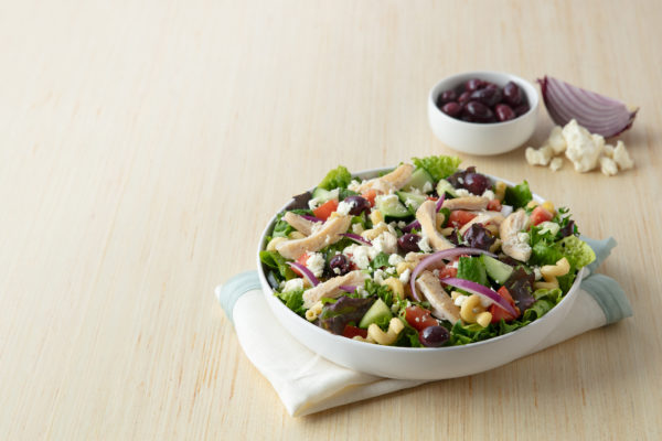 Med Salad with Chicken