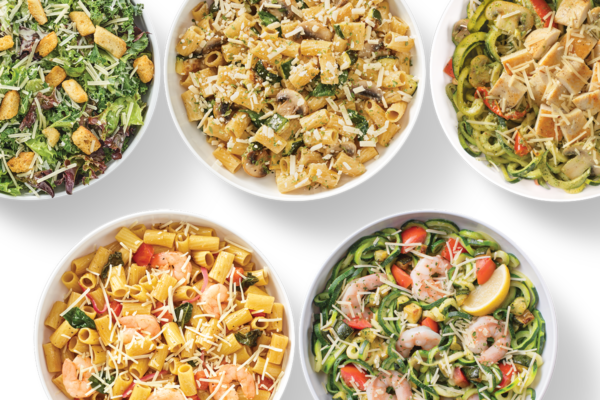 Zoodles & Caulifloodles Family Meal
