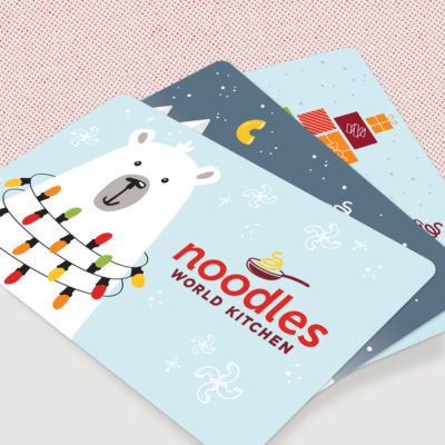 Digital Holiday Gift Cards