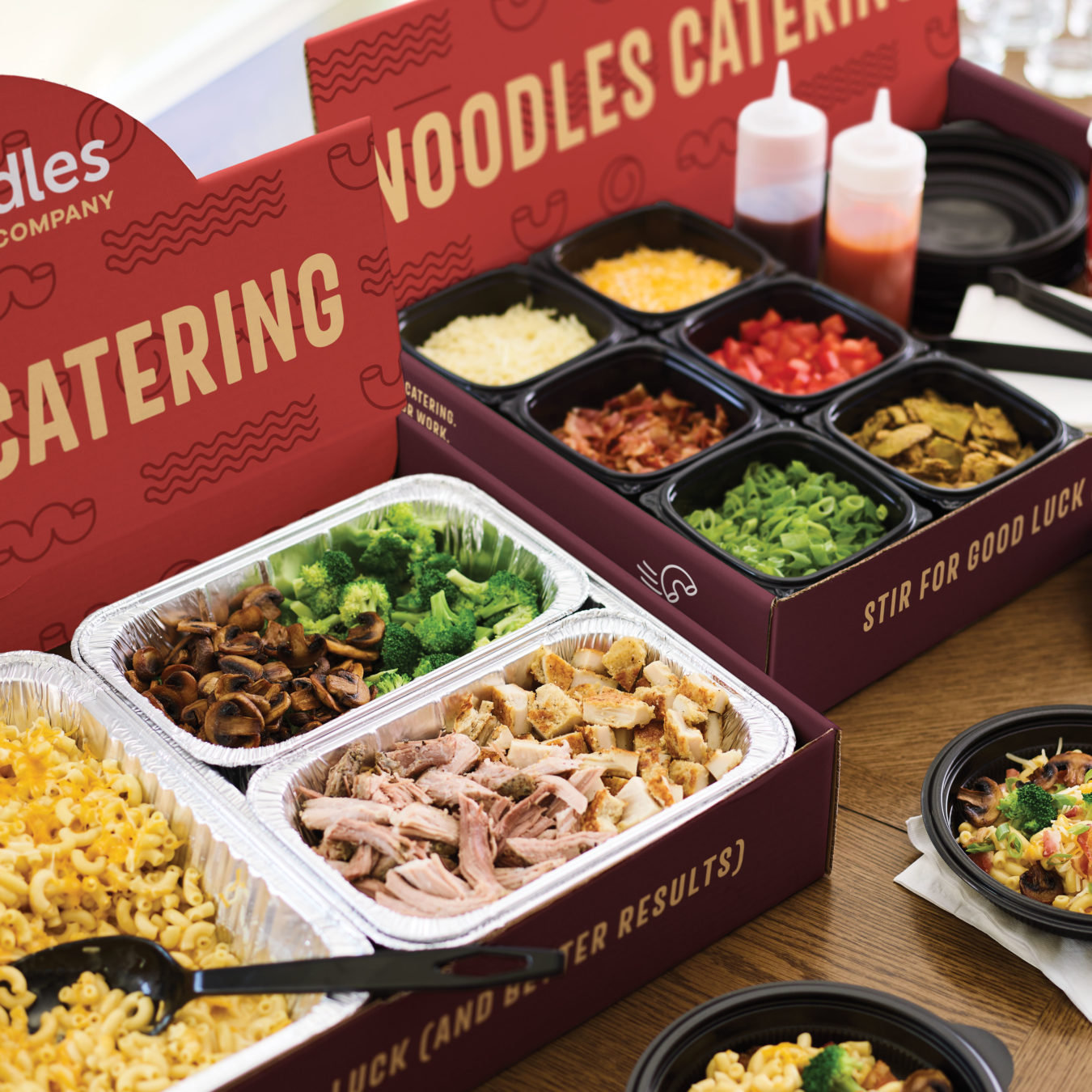 Noodles Mac & Cheese Catering Bar