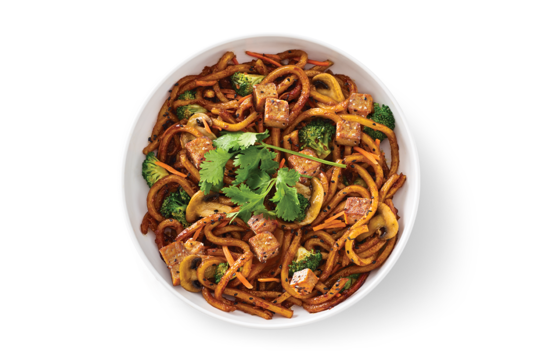 Japanese Pan Noodles with Tofu