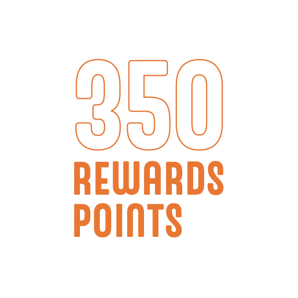 350 Rewards Points - No Kid Hungry